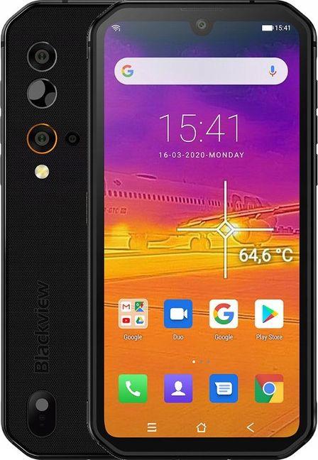 Smartfon Blackview BV9900 Pro 128 GB Dual SIM Czarny  (bw_20200727123857) bw_20200727123857 Mobilais Telefons
