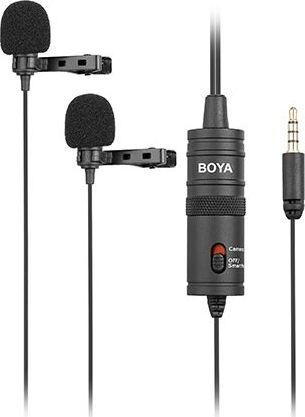 Boy Boy BY-M1DM Microphone. Double tie microphone Mikrofons