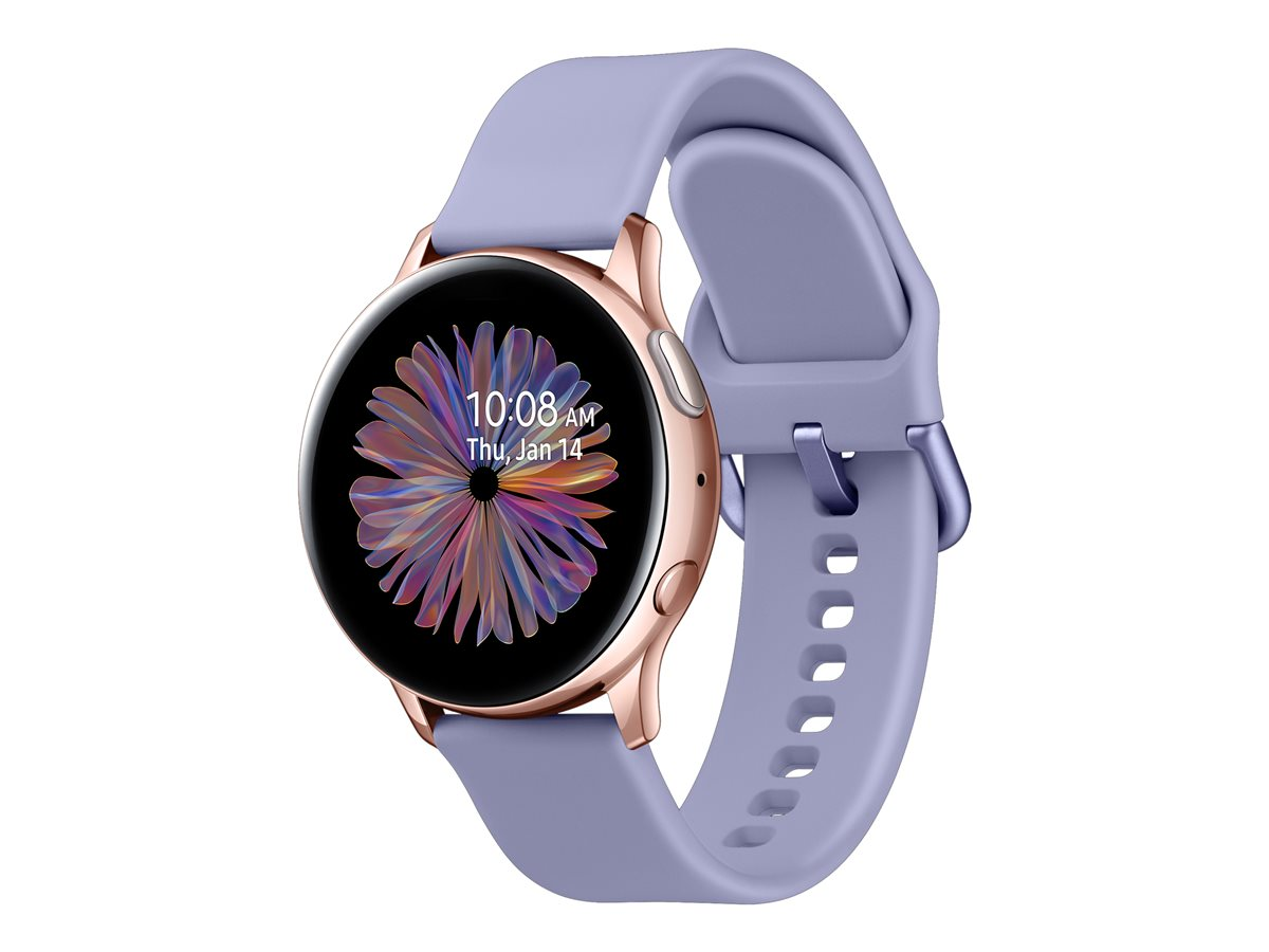 Samsung Galaxy Watch Active2 Aluminum 40mm Rose Gold Viedais pulkstenis, smartwatch