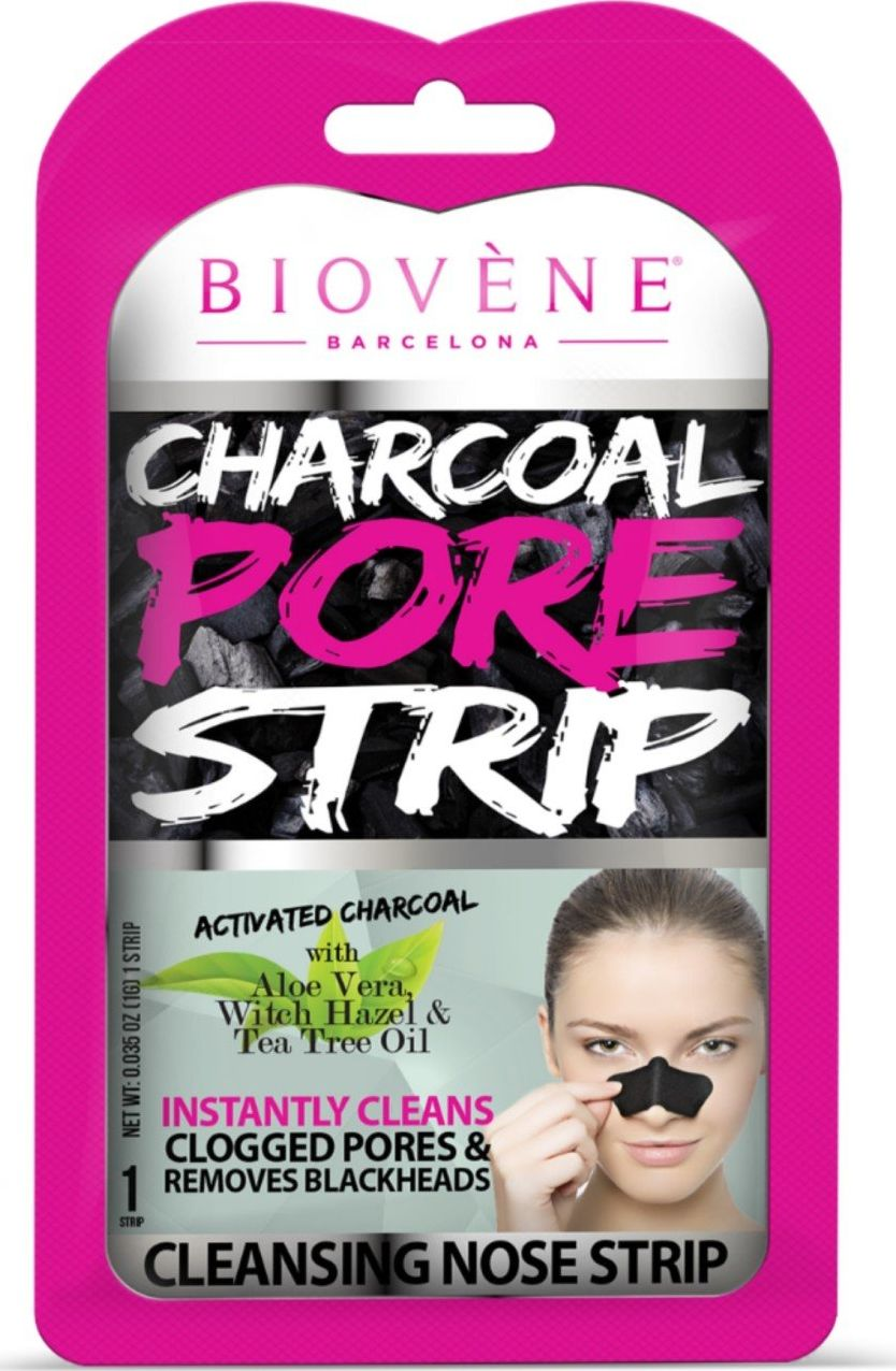 Biovene Nose Plaster Charcoal Pore Strip cleansing