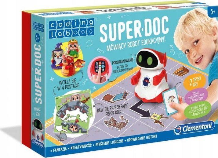 Clementoni Super Doc Talking Educational Robot (50640) (poļu valodā)