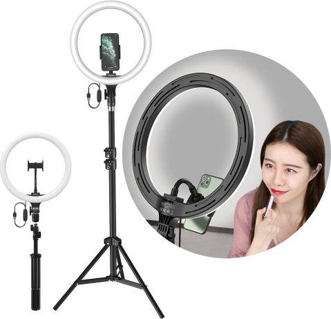 Baseus studio flash LED Selfie photo lamp CRZB12-B01 Selfie Stick