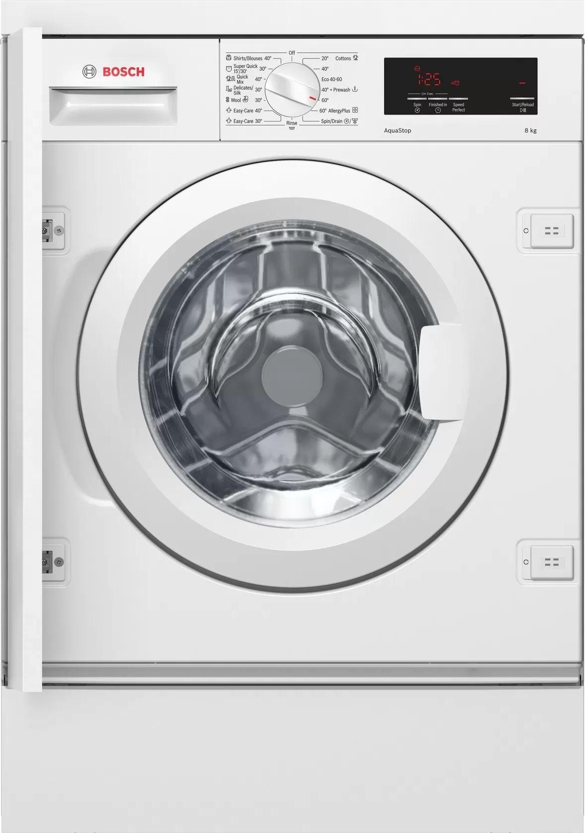 Pralka do zabudowy Bosch WIW24341EU WIW24341EU Iebūvējamā veļas mašīna