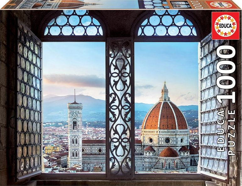 Educa Puzzle 1000 pieces View of Florence puzle, puzzle