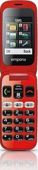 Telefon komorkowy Emporia Telefon One V200 czarno-czerwony-V200 BLACK-RED V200 BLACK-RED Mobilais Telefons