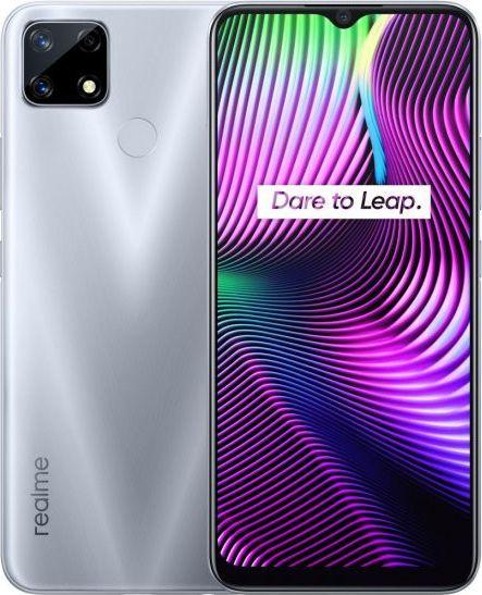 Realme 7i 4GB/64GB DS Glory Silver Mobilais Telefons