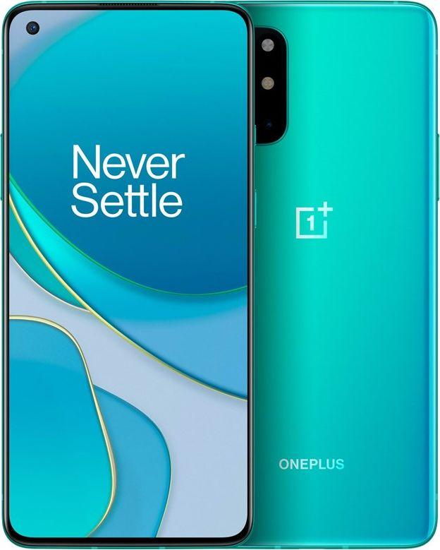 OnePlus 8T 8GB/128GB 5G Aquamarine Green Mobilais Telefons