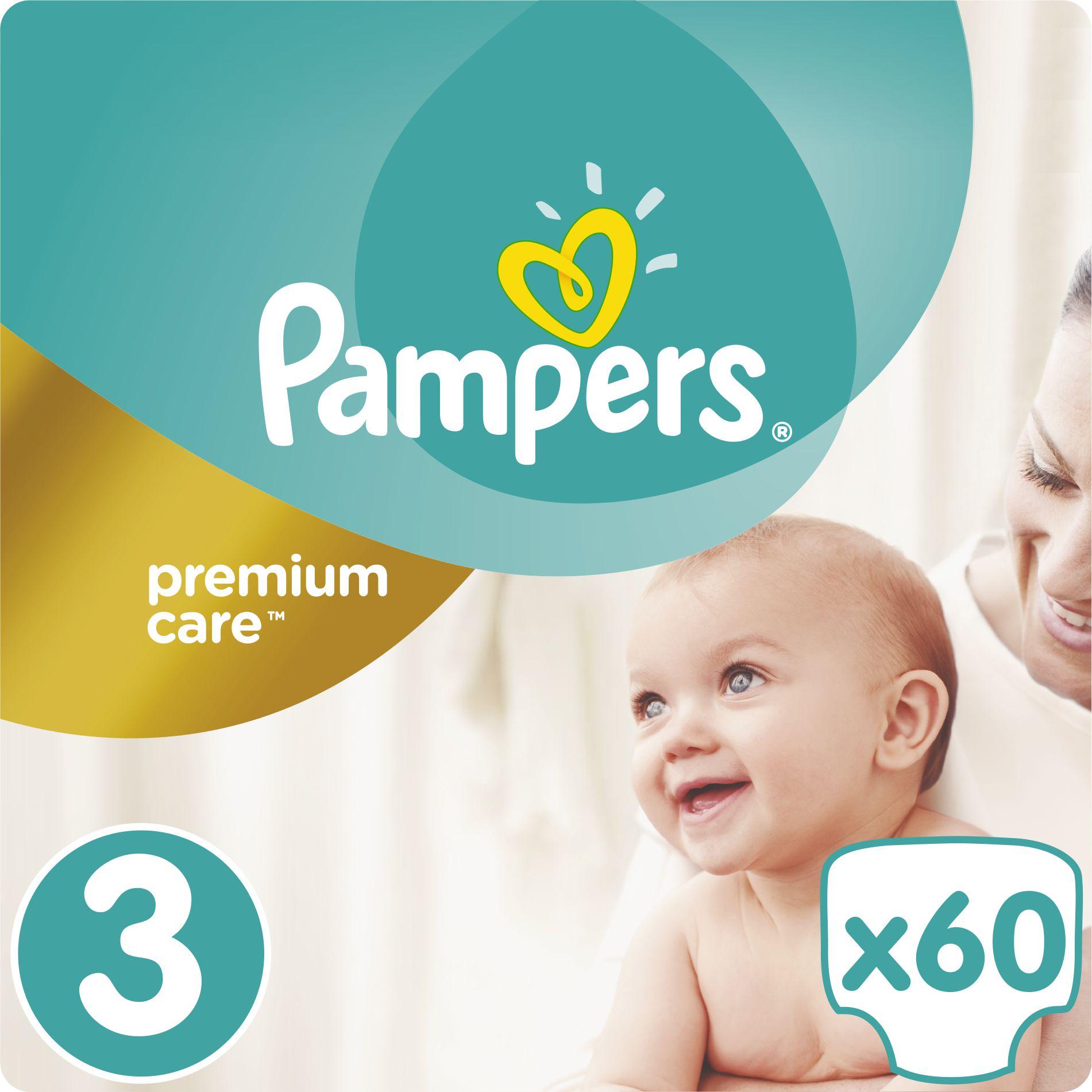 Pampers Premium Care 3 60 pc(s)
