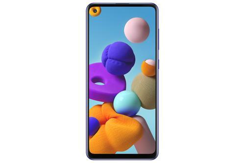 "Samsung Galaxy A21s SM-A217F/DSN 16.5 cm (6.5"") Dual SIM Android 10.0 4G 3 GB 32 GB 5000 mAh Blue 8806090483899 8806090483899 Mobilais Telefons"
