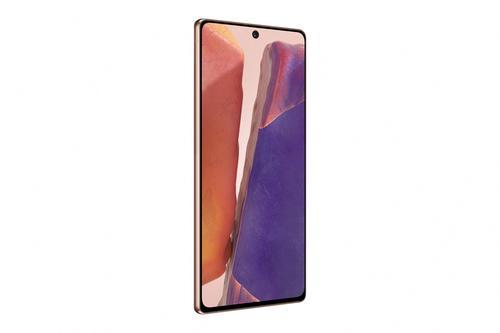 "Samsung Galaxy Note20 SM-N980F 17 cm (6.7"") Android 10.0 4G USB Type-C 8 GB 256 GB 4300 mAh Bronze 8806090596803 8806090596803 Mobilais Telefons"