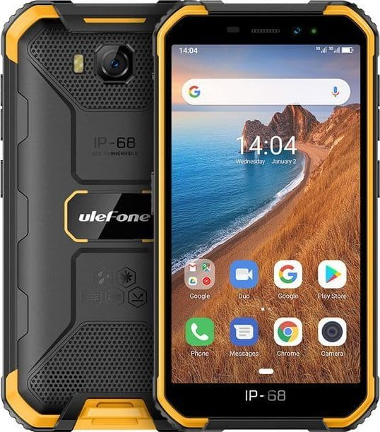 Smartfon UleFone Armor X6 2/16GB Dual SIM Czarno-zolty  (ulefon_20200213142126) ulefon_20200213142126 Mobilais Telefons