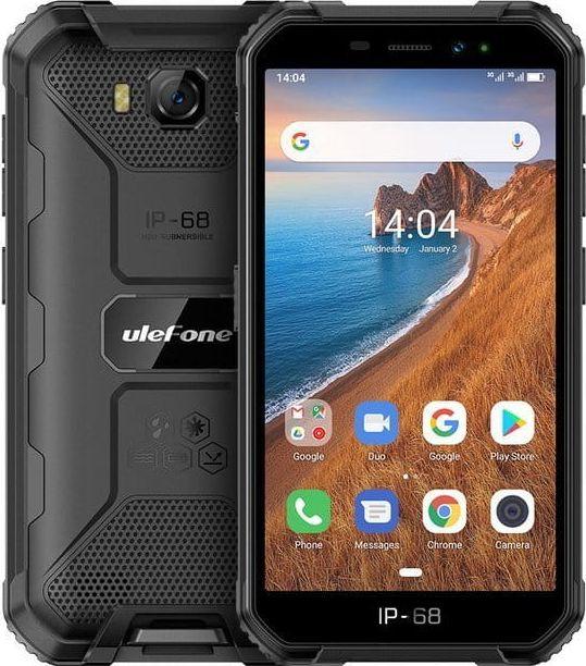 Smartfon UleFone Armor X6 2/16GB Dual SIM Czarny  (ulefon_20200213141401) ulefon_20200213141401 Mobilais Telefons