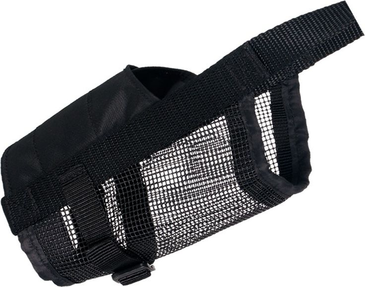 Trixie Muzzle in polyester with nylon mesh insert 1TX-19261