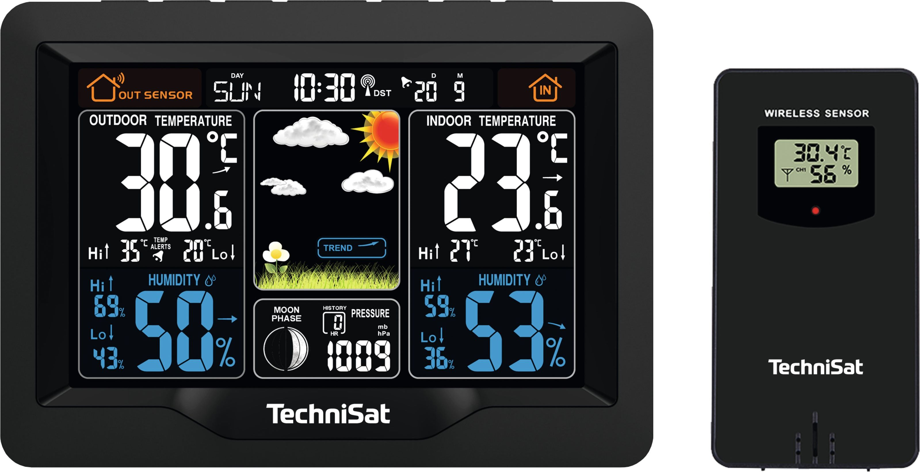 Technisat weather station IMETEO X1 Weather Station (76-4965-00) - QUTESSP00000196 barometrs, termometrs