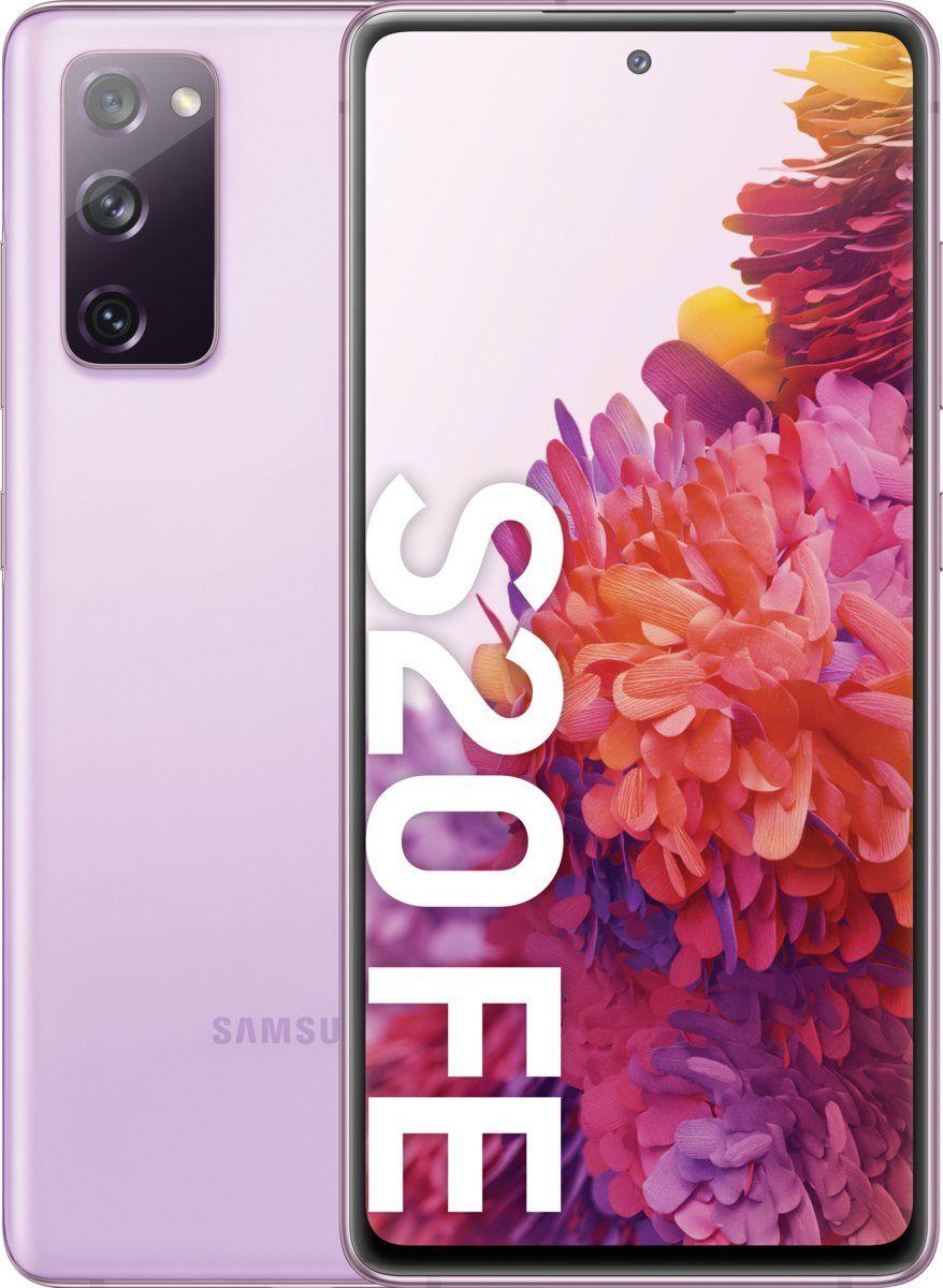 Smartfon Samsung Galaxy S20 FE 5G 256 GB Dual SIM Fioletowy  (SM-G781BLVHEUE) SM-G781BLVHEUE Mobilais Telefons