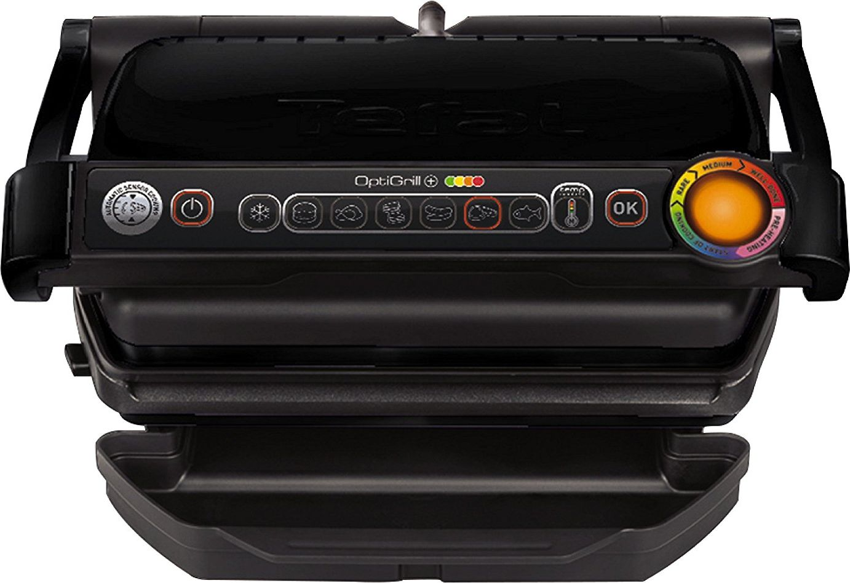 TEFAL OptiGrill+ GC712834 Contact grill, 2000 W, Black 3016661150074 Galda Grils