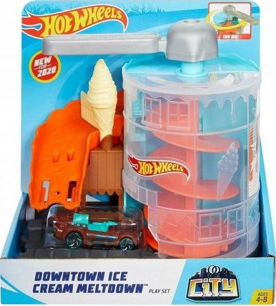 Hot Wheels Twisted Ice Cream Shop (GPD08)