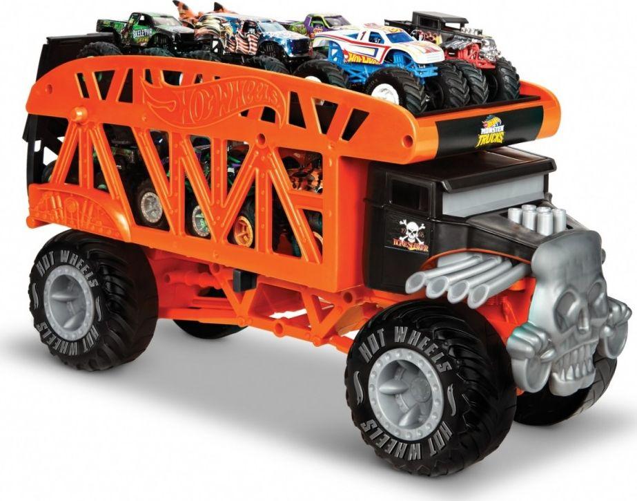 Hot Wheels Vehicle Monster Trucks Monster Transporter (GKD37) Rotaļu auto un modeļi