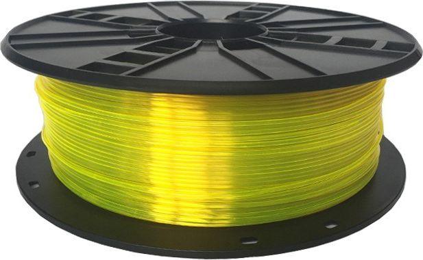 GEMBIRD PETG Fil Yellow 1.75mm 1kg 3D printēšanas materiāls