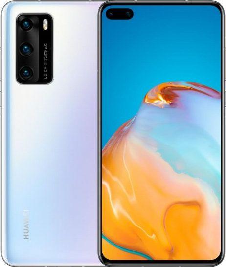 Smartfon Huawei P40 8/128GB Dual SIM Bialy  (P40white) P40white Mobilais Telefons