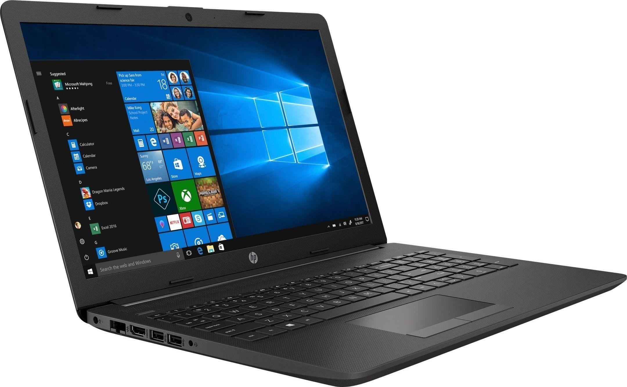 """HP 250 G7 15""""FHD/i3-1005G1/8GB/256GB SSD/DVD/Win10 Portatīvais dators"""