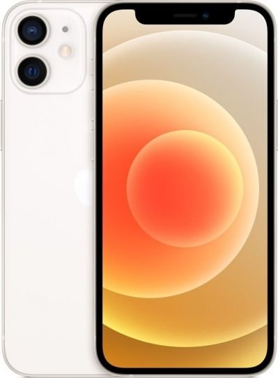 Apple iPhone 12 Mini 128GB White Mobilais Telefons