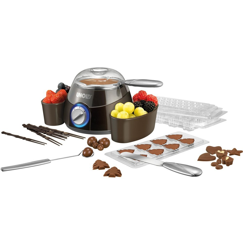Unold Chocolatier 48667 braun/silver 48667