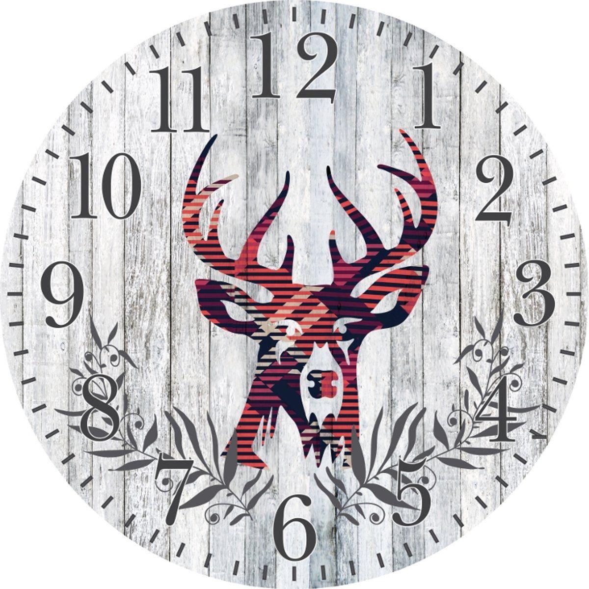 Platinet Zegar PZDC Deer Sienas pulkstenis Rokas pulksteņi