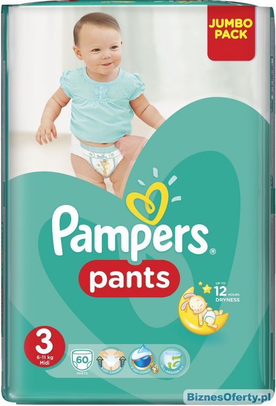 Pampers Midi Boy/Girl 3 60 pc(s)