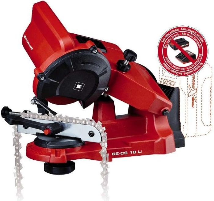 Einhell GE-CS 18 Li - red / black - without battery and charger 4499940