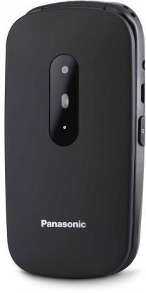 "Panasonic KX-TU446EXB 6.1 cm (2.4"") 110 g Black Senior phone Mobilais Telefons"