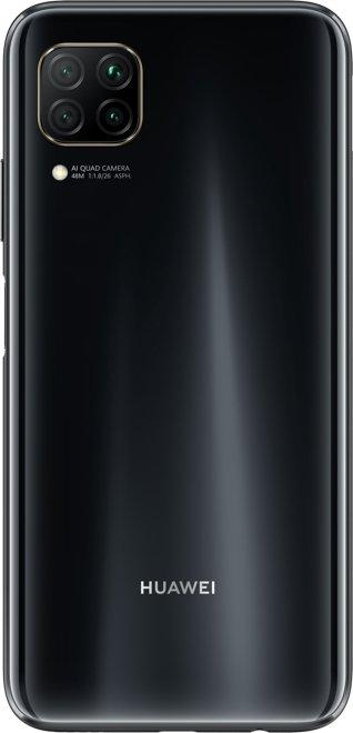 """Huawei P40 lite 16.3 cm (6.4"""") 6 GB 128 GB Hybrid Dual SIM 4G USB Type-C Black Android 10.0 Huawei Mobile Services (HMS) 4200 mAh Mobilais Telefons"""