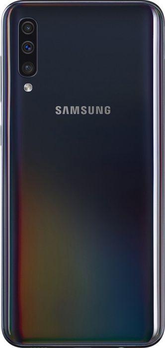 Samsung Galaxy A50 - 6.4 - 128GB, Android (Black, Enterprise Edition, Dual SIM) SM-A505FZKSE34 Mobilais Telefons