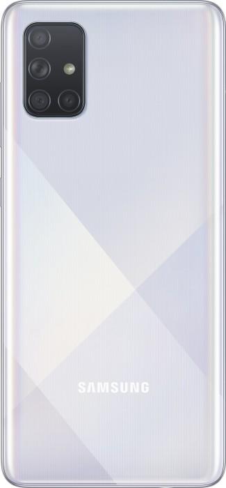 Samsung Galaxy A71 - 6.7 - 128GB - Android (Prism Crush Silver, Dual SIM) SM-A715FZSUATO Mobilais Telefons