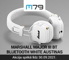 Marshall Major III austiņas