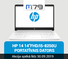 HP 14 portatīvais dators