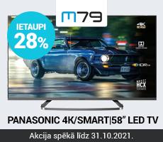 Panasonic 4K 58